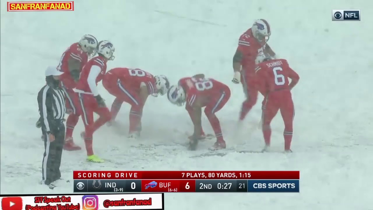 Best Moments Of Bills Vs Colts Snowdown Snowoff 2017 18 Nfl Highlights Hd Youtube