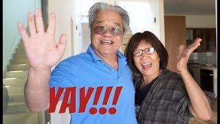 NEW HOUSE TOUR - Showing My Parents
