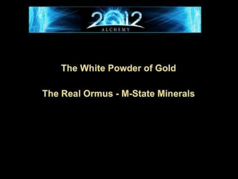 Ormus, The White Powder Gold, The Philosopher