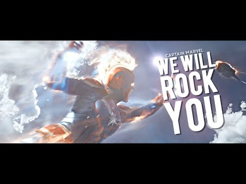 ► Captain Marvel | We Will Rock You {+1k}