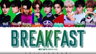 Download NCT 127 - 'BREAKFAST' Lyrics [Color Coded_Han_Rom_Eng]