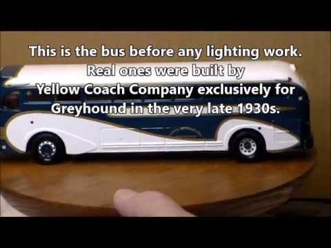 Grayhound classic bus