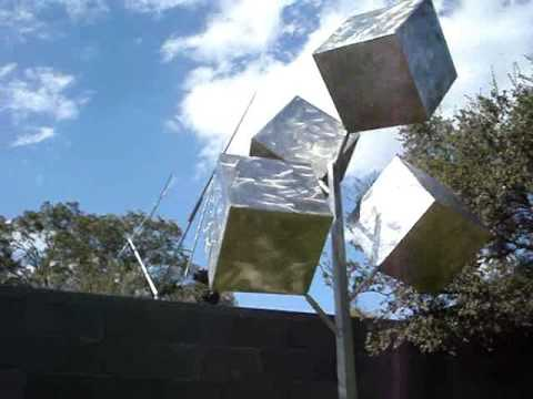 George Rickey Kinetic Sculpture / McNay Art Museum