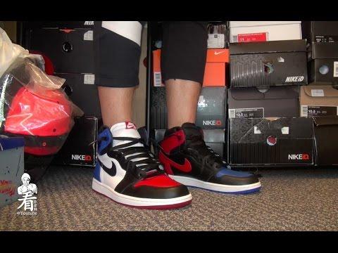 """看你老師球鞋介紹 - Air Jordan 1 """"Top 3"""""""
