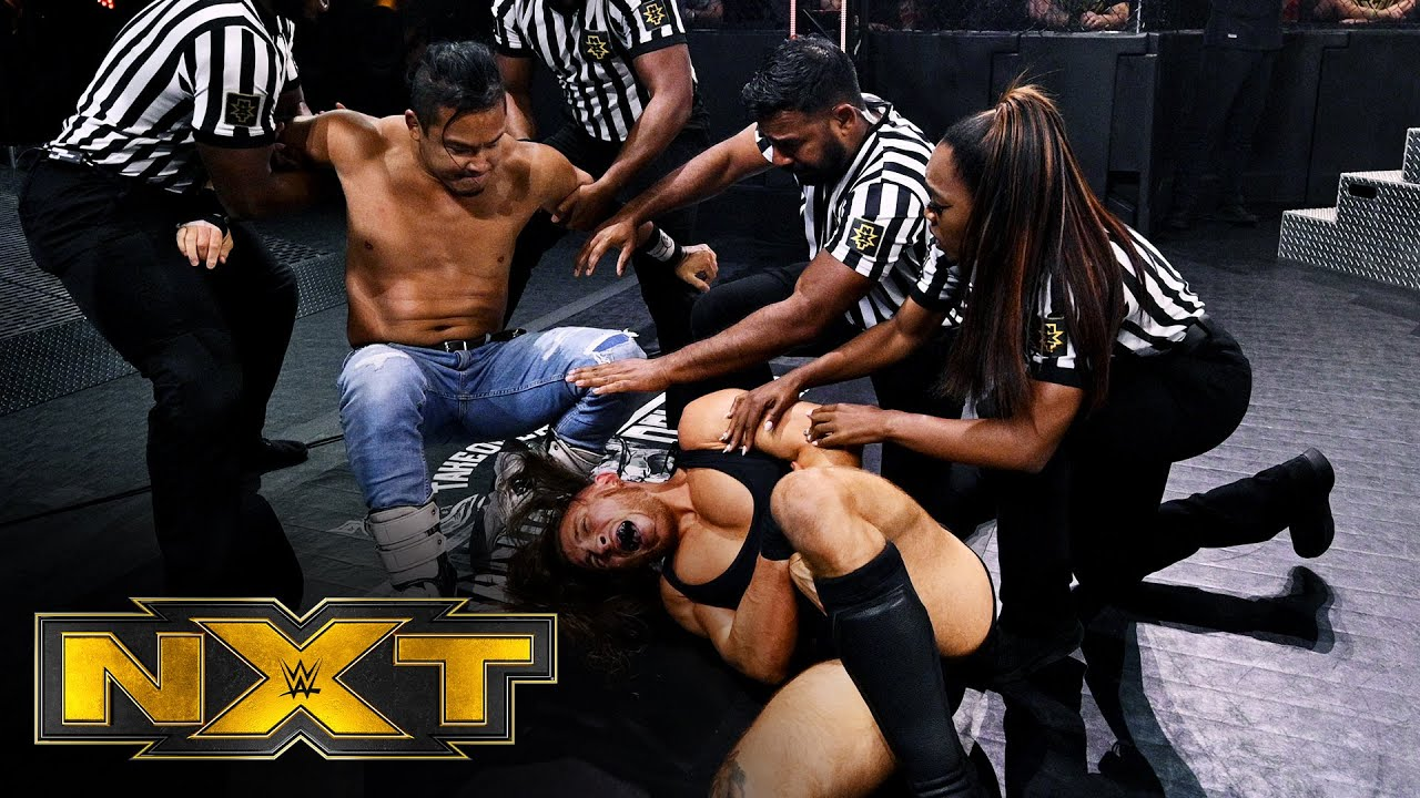 12-Man Battle Royal to qualify for Gauntlet Eliminator: WWE NXT, March 31, 2021