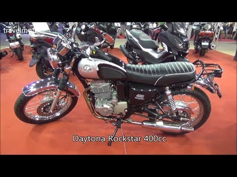 The 2017 Daytona RockStar 400cc Motorcycle
