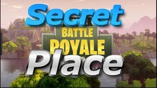 Secret Places New Update (Fortnite Battle Royale)
