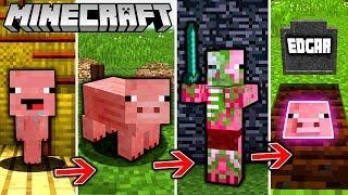 EDGAR LEBENSZYKLUS in Minecraft - Vom FERKEL zum EDGARIANER!