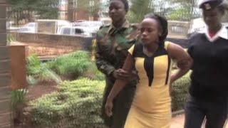 Guns recovered from pregnant gangster in Nyeri