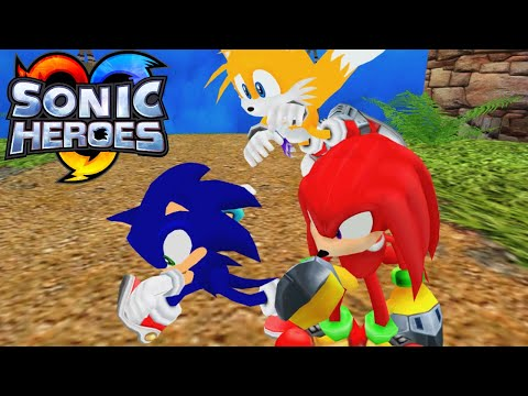 Sonic Heroes Adventure (Windy Valley + Egg Carrier)