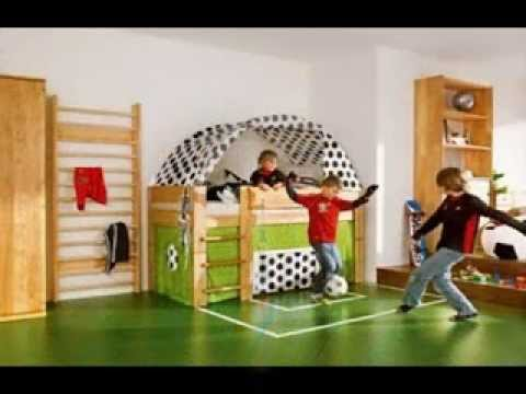 Kids Sports Room Ideas kids sports room design decor ideas - youtube