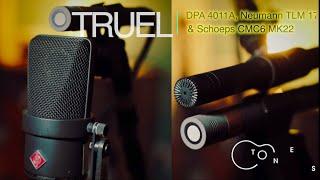 Neumann TLM170 vs Schoeps CMC6 MK22 vs DPA 4011A on a Classical Guitar | Microphone Duels