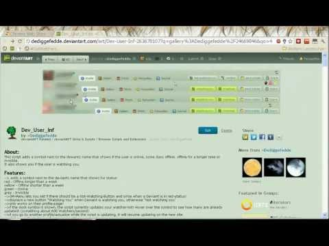 How to use userscripts in Chrome/Iron with tampermonkey - YouTube