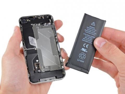 Замена аккумулятора на айфон 4s своими руками видео
