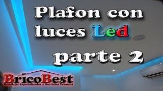 Como hacer plafon de tablaroca con luz LED perimetral - parte 2