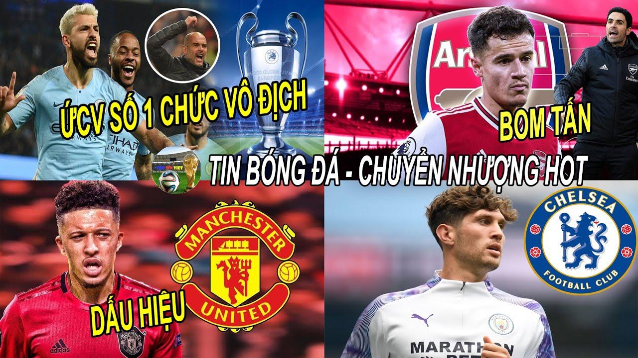 💥Tin bóng đá 9/8|Dấu hiệu MU sắp mua Sancho,Arsenal chuẩn bị nổ B.OM TẤN,Man City ỨCV số 1 VĐ CUP C1