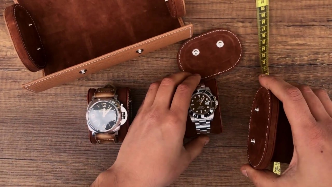 Galata Camel Watch Travel Case for Three Watches - Bosphorus Leather ... 5854a6c7008fe