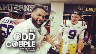 Odell Beckham's Addiction to the Spotlight Takes Away from LSU's Moment - The Odd Couple