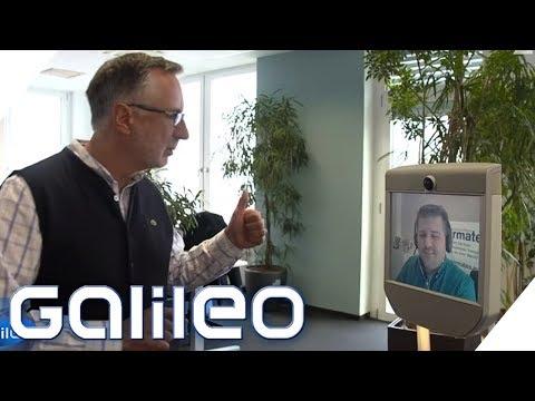 Der Homeoffice-Roboter fürs Büro   Galileo   ProSieben