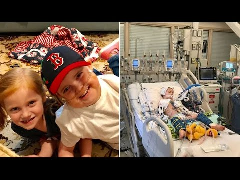 5-Year-Old Boy Can't Wait to Go Home and Play Baseball After Heart Transplant