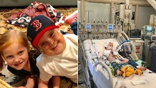 5-Year-Old Boy Can't Wait to Go Home and Play Baseball After Heart Transplant thumbnail