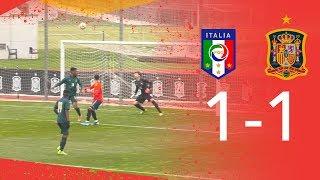 La sub 19 empató ante Italia 1 1 aunque mereció mejor resultado