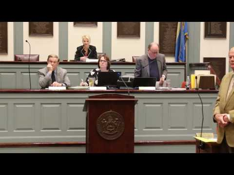 Senator Dave Lawson Objecting to the First Muslim Prayer in Delaware Senate (Sound Only)