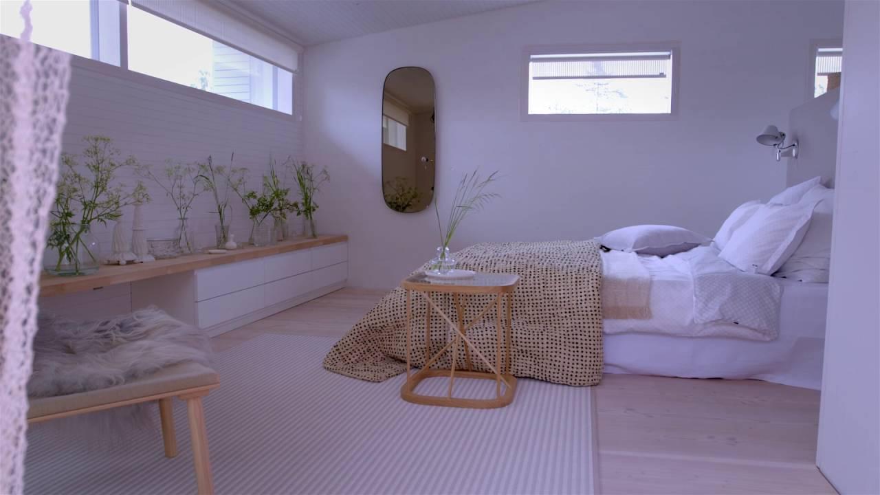 Suomen romanttisin makuuhuone asuntomessut