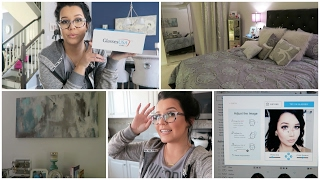Eye Glasses HAUL & Bedroom Makeover | Februar...