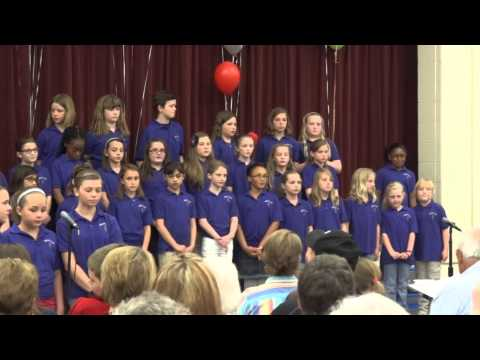 White Lick Elementary School Choir Concert Brownsburg Indiana