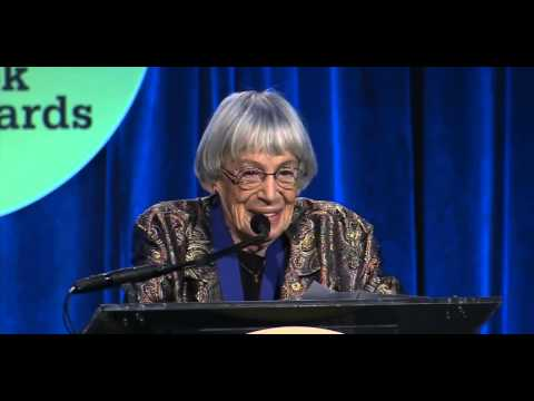 Discurso de Ursula K. Le Guin no National Book Awards