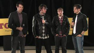 Garage Band Interview with Hawthorne Heights