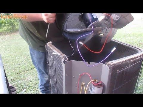 HVAC Service: Lennox Condenser Motor Replacement