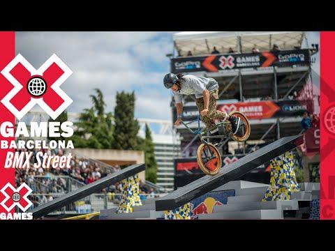 X Games Barcelona 2013 BMX STREET: X GAMES THROWBACK