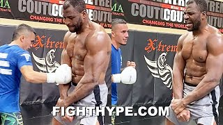FRANCIS NGANNOU NEXT LEVEL BODY SHOT CHALLENGE; SERIOUS ABS OF STEEL FLEX AFTER RYAN GARCIA LAUGHTER