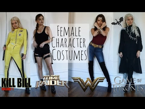 Last Minute Female Character Costumes Youtube