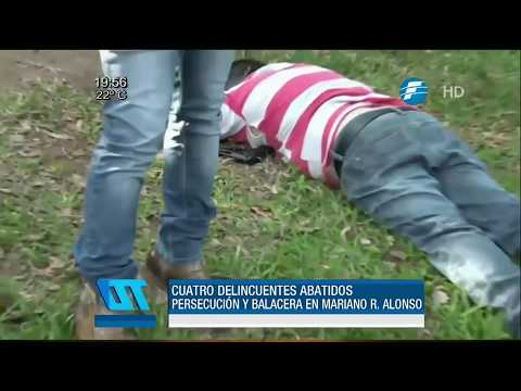 Cuatro muertos tras enfrentamiento en Mariano Roque Alonso