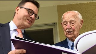 Hans Knecht: 101 birthday greetings for 101 years of life