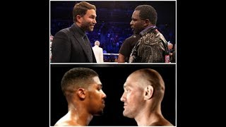 DILLIAN WHYTE RIPS PROMOTER EDDIE HEARN FOR DECISION TO PUSHING FOR JOSHUA/FURY FIGHT