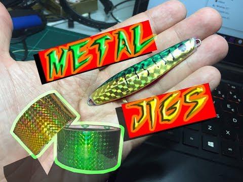 DIY - FIXING banged up METAL JIGS (Better than new)
