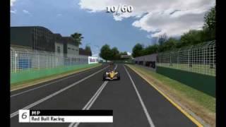 F1 Challanger @ Australian Grand Prix 2009 (rFactor Online League)