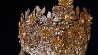 """Свадебная корона """" Царевна - Лебедь"""""""
