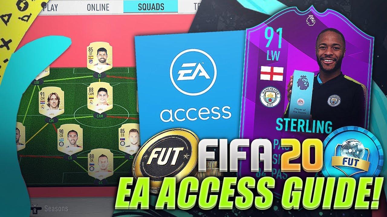 Ps4 ea access fifa 20