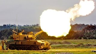AWESOME SOUND US Military Machine Gun & Artillery Exercise