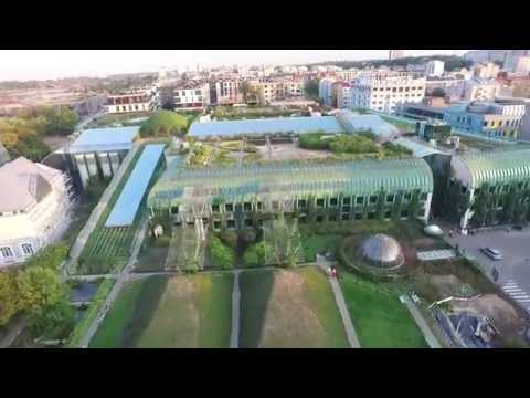 BUW - Biblioteka Uniwersytecka w Warszawie (University of Warsaw Library), drone's video 1080p