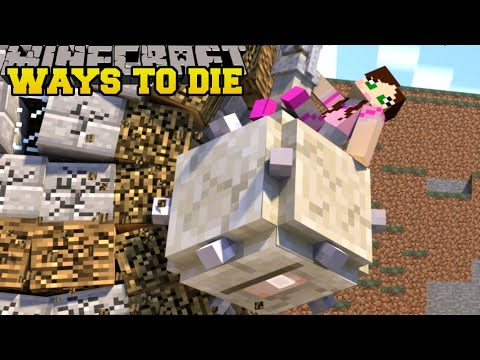 Minecraft : EPIC WAYS TO DIE! - 10 WAYS TO DIE 4 - Custom Map