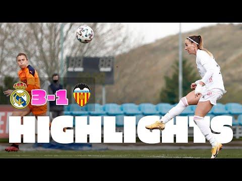 📽️ HIGHLIGHTS   Real Madrid 3-1 Valencia   Asllani hat-trick   Primera Iberdrola