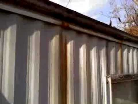 Leaking Mobile Home Manufactured Housing Rain Gutters