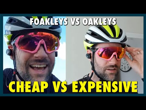 Cheap Vs. Expensive - Oakley Vs. Fake Oakley (Foakley)