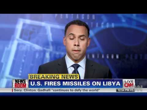 U.S. FIRES MISSILES ON LIBYAN